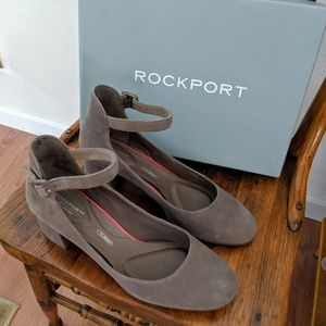 Rockport Block Heel Pumps Size 9